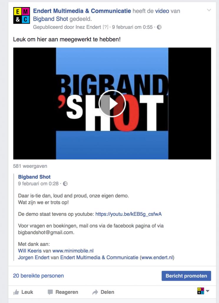 Bigband Shot FB